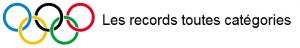 Records toutes catégories