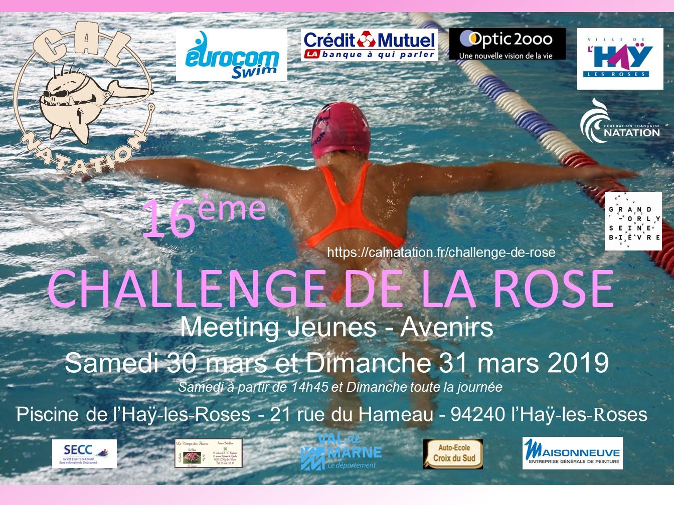16è challenge de la rose